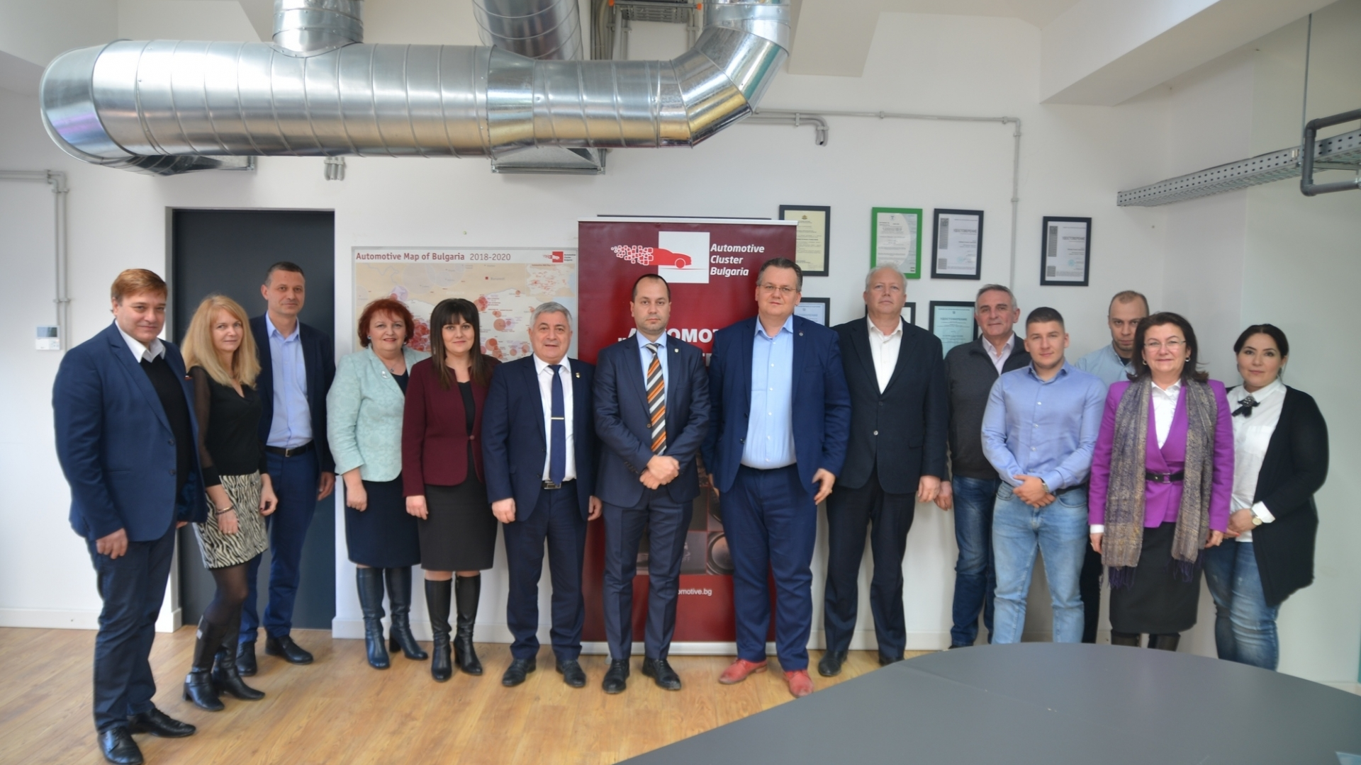 """At the Automotive Cluster Bulgaria was established the """"Northwest Regional Innovation Center"""""""