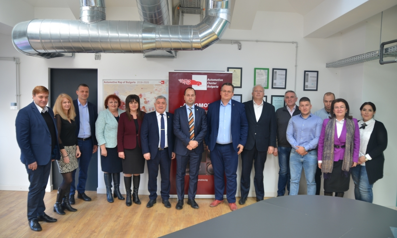 "At the Automotive Cluster Bulgaria was established the ""Northwest Regional Innovation Center"""