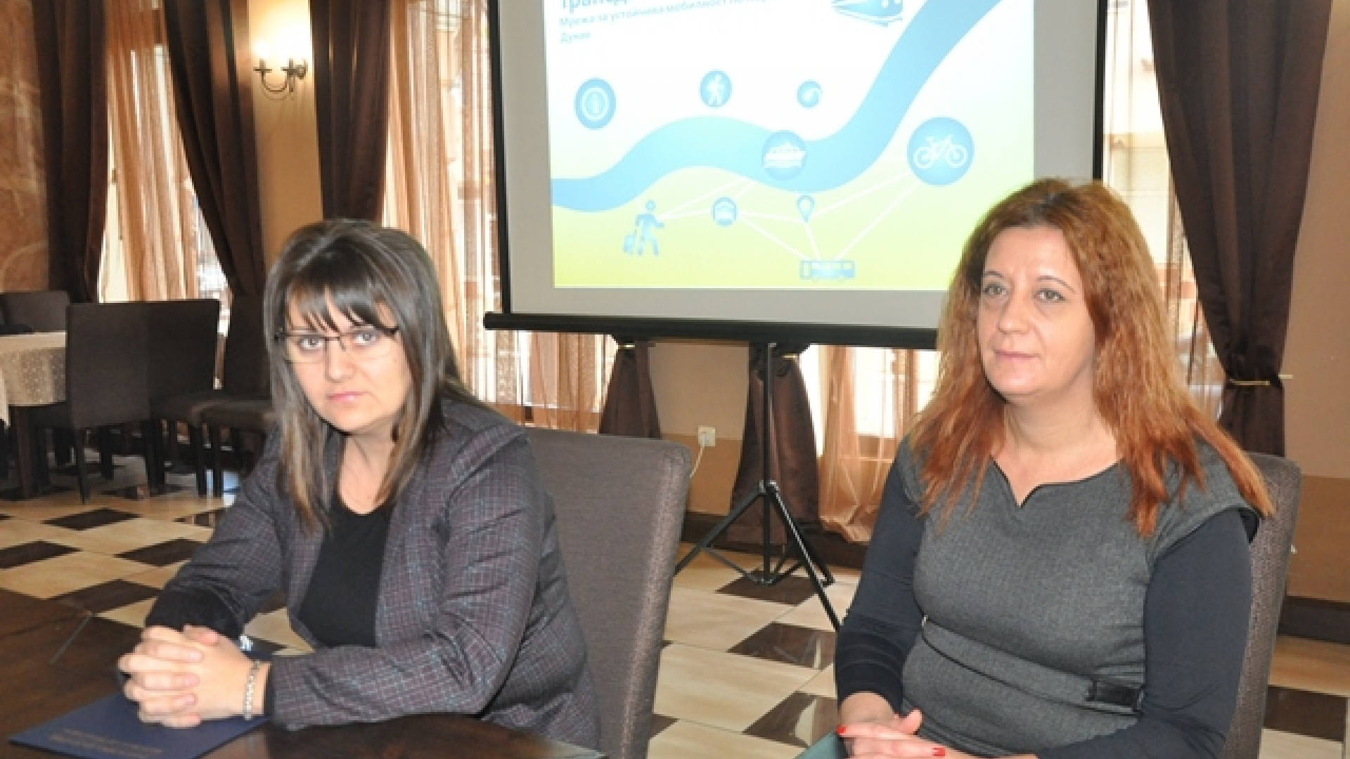 Regional governor of Vidin region Albena Georgieva opened the First workshop with stakeholder on project Transdanube.Pearls – Network for sustainable mobility along the Danube
